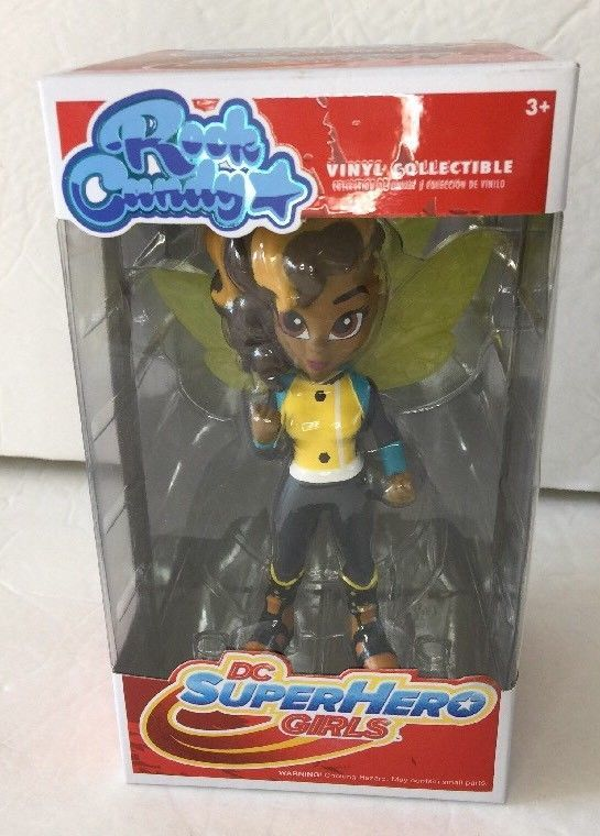 Funko Rock Candy 2017, Toy NEU BUMBLEBEE DC SUPER HERO GIRLS