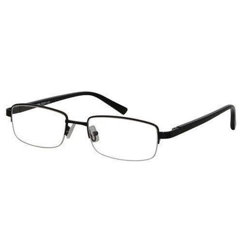 9ca831ed9894 S l1600. S l1600. Previous. EBE Reading Glasses Bifocal Mens Womens Blk  Rectangle Half Rim Spring ...