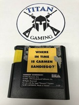Where in Time Is Carmen Sandiego (Sega Genesis, 1992) - $6.65