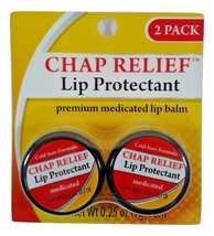2 - Pack Cold Sore Formula Chap Relief Lip Prot... - $1.96