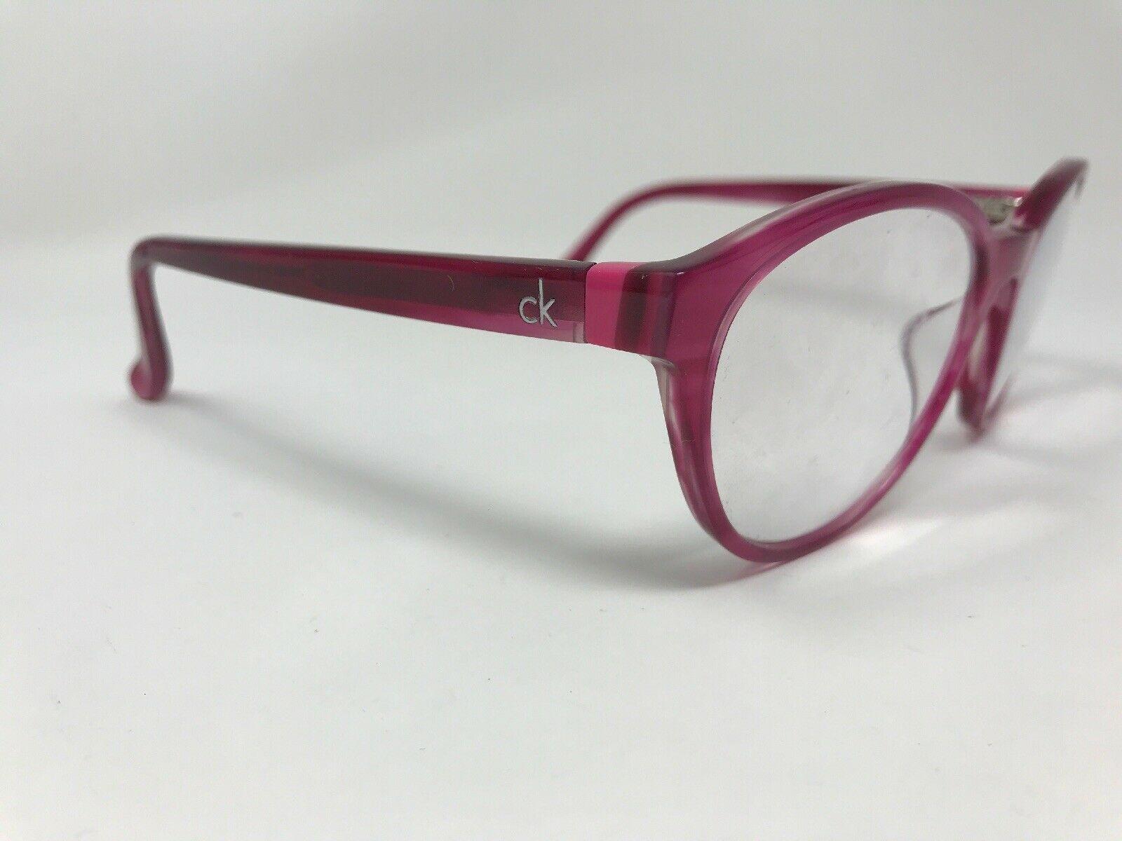 CALVIN KLEIN Eyeglasses Frame CK5881 611 Womens 51-18-135 Pink Crystal GB30