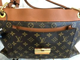 "LOUIS VUITTON ""Olympe MM"" Monogram Canvas & Leather Shoulder Bag w/Buckle $3400 image 6"