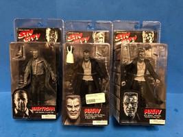 * 3 NECA Reel Toys Frank Miller's Sin City Series 1 Hartigan Marv Series... - $29.95