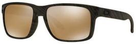 Oakley Holbrook Sonnenbrille Woodgrain Wolfram Polarisierend OO9102-A3 - $158.38