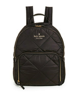 Kate Spade Nylon Backpack watson lane Quilted hartley ~NWT~ Black - $138.60