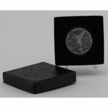 "(1) Black Paper Model ""H"" Air-Tite Single Coin Holder Display Box Case & (1) - $8.45"