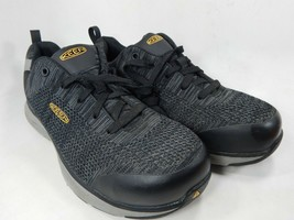 Keen Sparta Size US 9 M (D) EU 42 Men's Aluminum Toe Work Shoes Black 1021345 - $70.51
