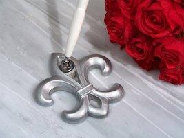 Silver Fleur De Lis Pen Set [SET OF 24] - ₨13,117.15 INR