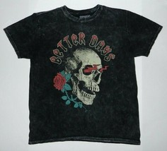 Better Days Graphic Band Style Acid Wash T-Shirt New  - $14.99