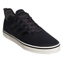 Adidas Men's True Chill Carbon/Black/White Skateboarding Sneakers Size 9 - $49.49