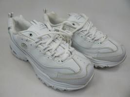Skechers D' Lites Taille Us 7 M (B) Ue 37 Femmes Chaussures Entraînement Blanc - $37.34