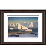 "Rockwell Kent ""Early November North Greenland"" Print - Hudson River School - $405.00"