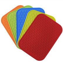 OOTDTY Practical Silicone Holder Mat Kitchen Heat Non-slip - $11.95