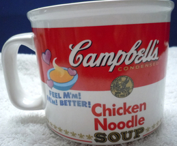 Campbell's Chicken Noodle Soup Mug 1997 - $12.99