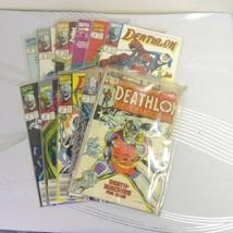 Marvel Deathlok 11pc Vintage Comic Book Lot High Grade VF Run #1-10 1st ... - $14.99