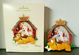 Hallmark Ornament 2007 Lucky Dog PLUTO Disney Special Dog Photo Holder NIB - $16.99