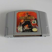 Duke Nukem 64 game cartridge only good shape N64 (Nintendo 64, 1997) - $22.95