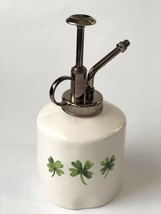 "RAE DUNN St Patricks Day Green LL ""Irish Mist"" Mister W/ Shamrock On Bac... - $17.77"