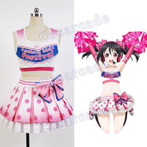 Love Live!Cheerleader Yazawa Nico/Niko Cosplay Costume Uniform Outfit Dress Suit - $59.95+
