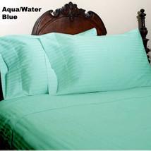 Extra Deep Pocket 4 PC Sheet Set 1200TC Egyptian Cotton US-Size Aqua Blu... - $70.90+
