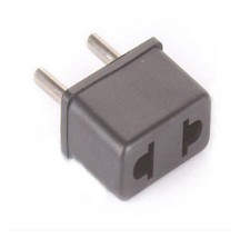 US/USA to European Euro EU Travel Charger Adapter Plug Outlet Converter.     D1