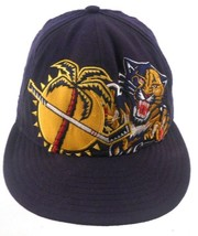 Florida Panthers NHL Hockey New Era 59fifty Fitted 7 1/8 Hat Vintage Logo Wool - £40.13 GBP