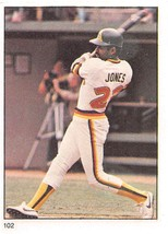 1982 Fleer Stamps #102 Ruppert Jones > San Diego Padres - $0.99
