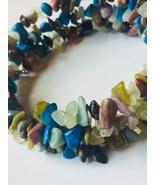 Mulit-Gemstone Wire Wrap Bracelet - $10.00