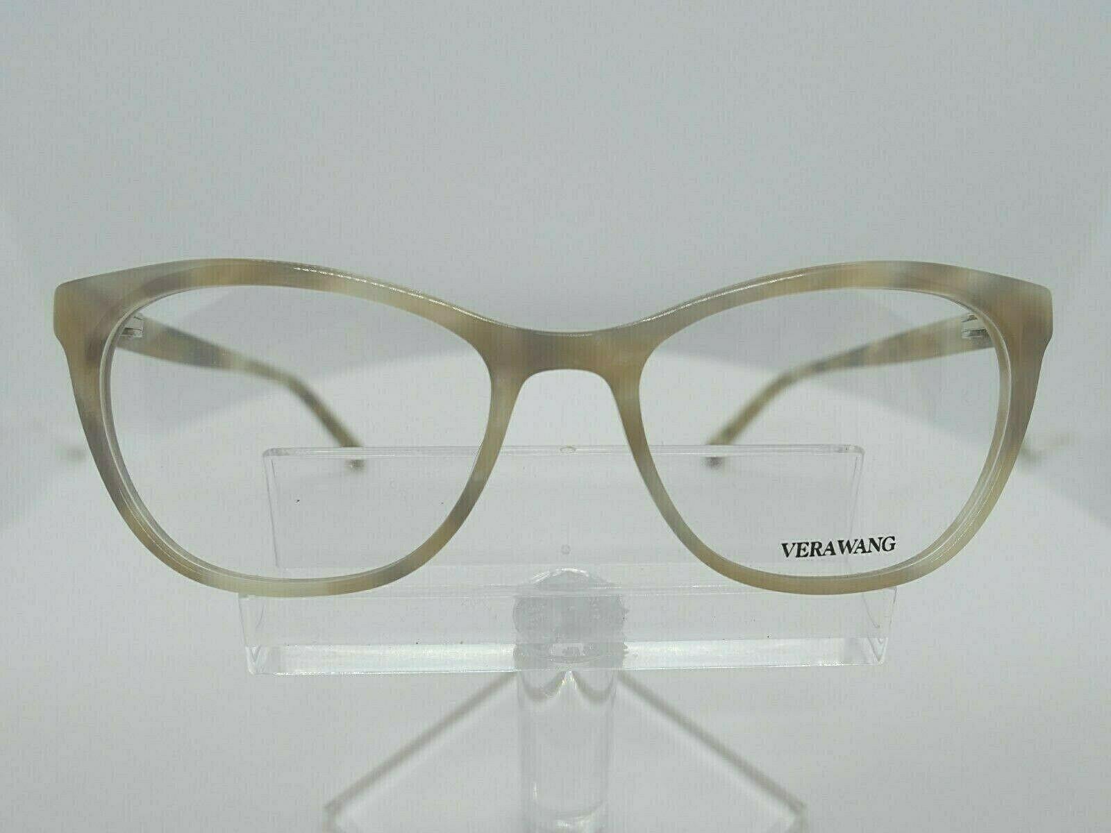 VERA WANG V 380 (BD) Blonde Horn 53 X 17 140 mm Eyeglass Frame - $79.15