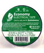 "Duck Economy Electrical Tape, Black Vinyl, Single Roll (3/4"" x 60 FT x 7... - $8.79"