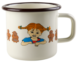 Cup Pippi Longstocking Muurla Pippi and Panpepato 3,7 DL * Novelty - $15.25