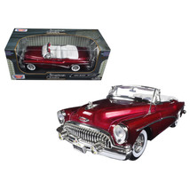 1953 Buick Skylark Burgundy 1/18 Diecast Model Car by Motormax 73129BUR - $54.17