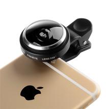 Fish Eye Camera Universal Clip 235 Degree Super  Fisheye For Apple - $7.97