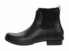 UGG Chevonne Black Women's Waterproof Slip On Chelsea Rainboots 1110650 - $53.00