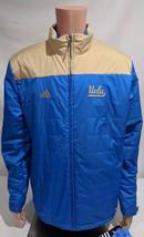 LZ Men's Sz Large UCLA Bruins Climawarm Zip Up Reflective Winter Jacket Coat NEW - $28.10