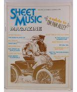 Sheet Music Magazine March 1978  - $3.99