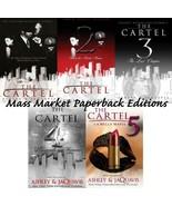 Ashley & JaQuavis Coleman CARTEL Urban Fiction Series MASS MARKET Paperb... - $30.99