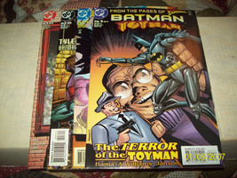 Batman: Toyman #1-4 (Complete MINI-SERIES) - $9.00