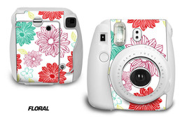Custom Skin Sticker Wrap Decal For Fujifilm Instax Mini 8 Instant Camera FLORAL