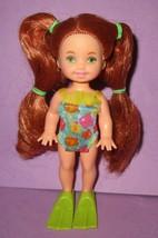 Barbie Sister Kelly Happy Family Sun Fun Snorkle Snorkel Redhead Kerstie... - $16.00