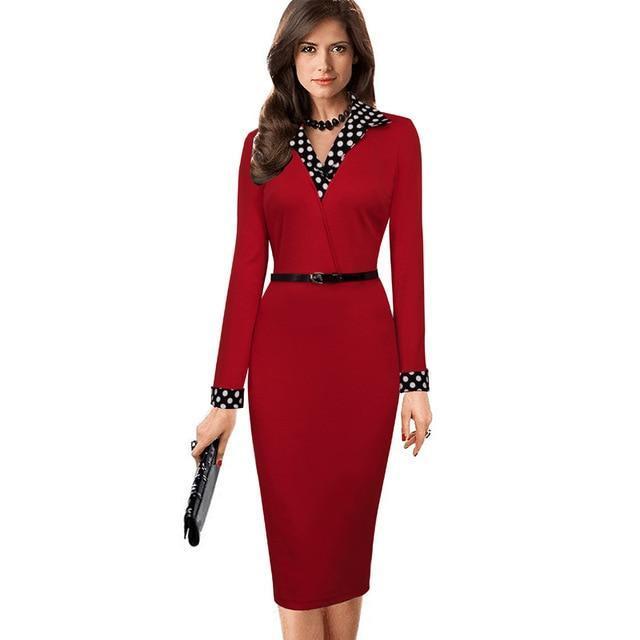 K vestidos office bodycon long sleeve patchwork.jpg 640x640 2a170c84 aab4 4ab3 b08c e559839496a1