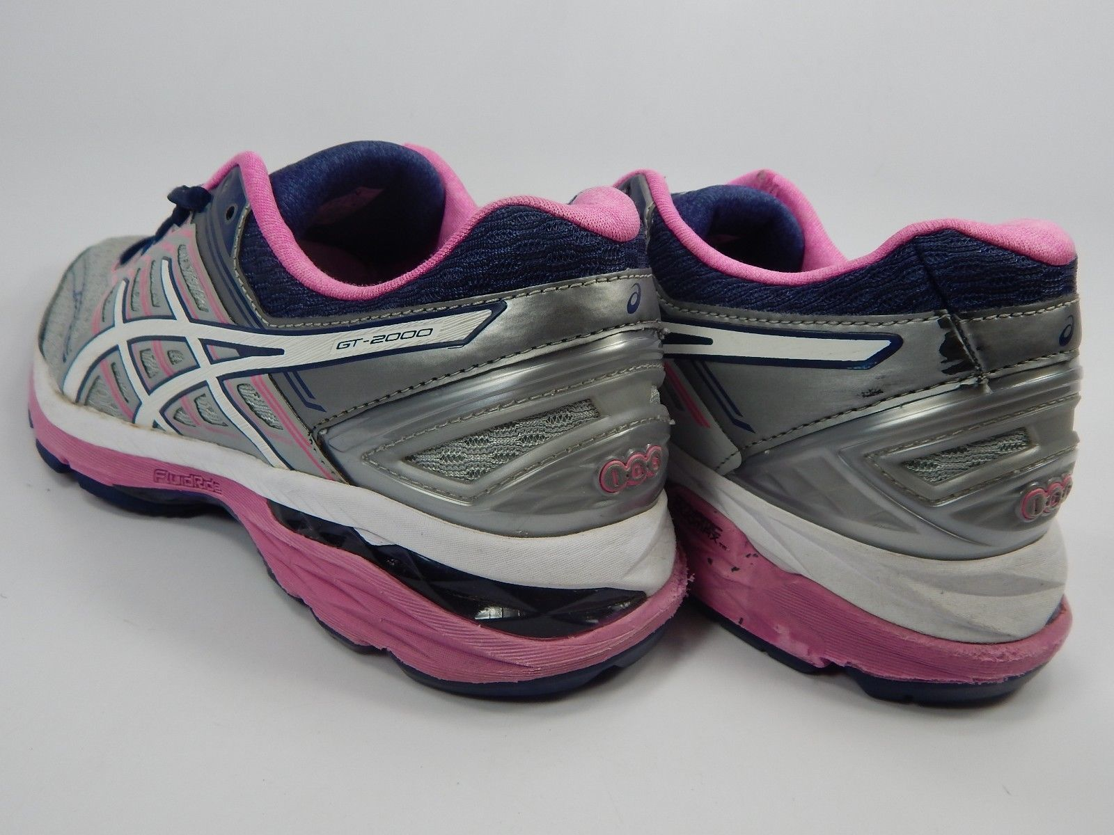 Asics GT 2000 v 5 Size US 8.5 M (B) EU: 40 Women's Running Shoes Silver T757N
