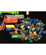 Knex Loopin Lightning Coaster Parts Tracks Rod Chains Cars Building Toys... - $24.74