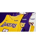 Lonzo Ball #2 LA Lakers Wish Mens Jersey All Custom Sewn All Szs 3 color... - $49.90