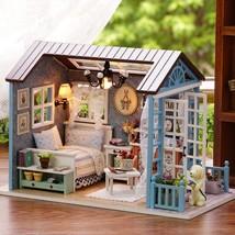 Beauty Dollhouse Miniature DIY House Kit Creative Room Perfect DIY Gift ... - $29.65