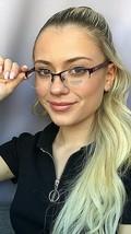 New COACH HC 3850 9134 Rx 50mm Semi-Rimless Women's Eyeglasses Frame - $69.99