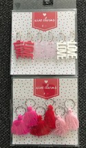 New Set x 12 Wine Glass Charms LOVE  Pink White Red Valentines Wedding S... - $8.59