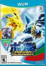 Pokken Tournament Wii U  Disk Only - $12.79