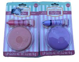 More Than Magic Lip Balm Macaroon Squish Toy Grape Cherry .2 Oz Lot Of 2... - $17.99