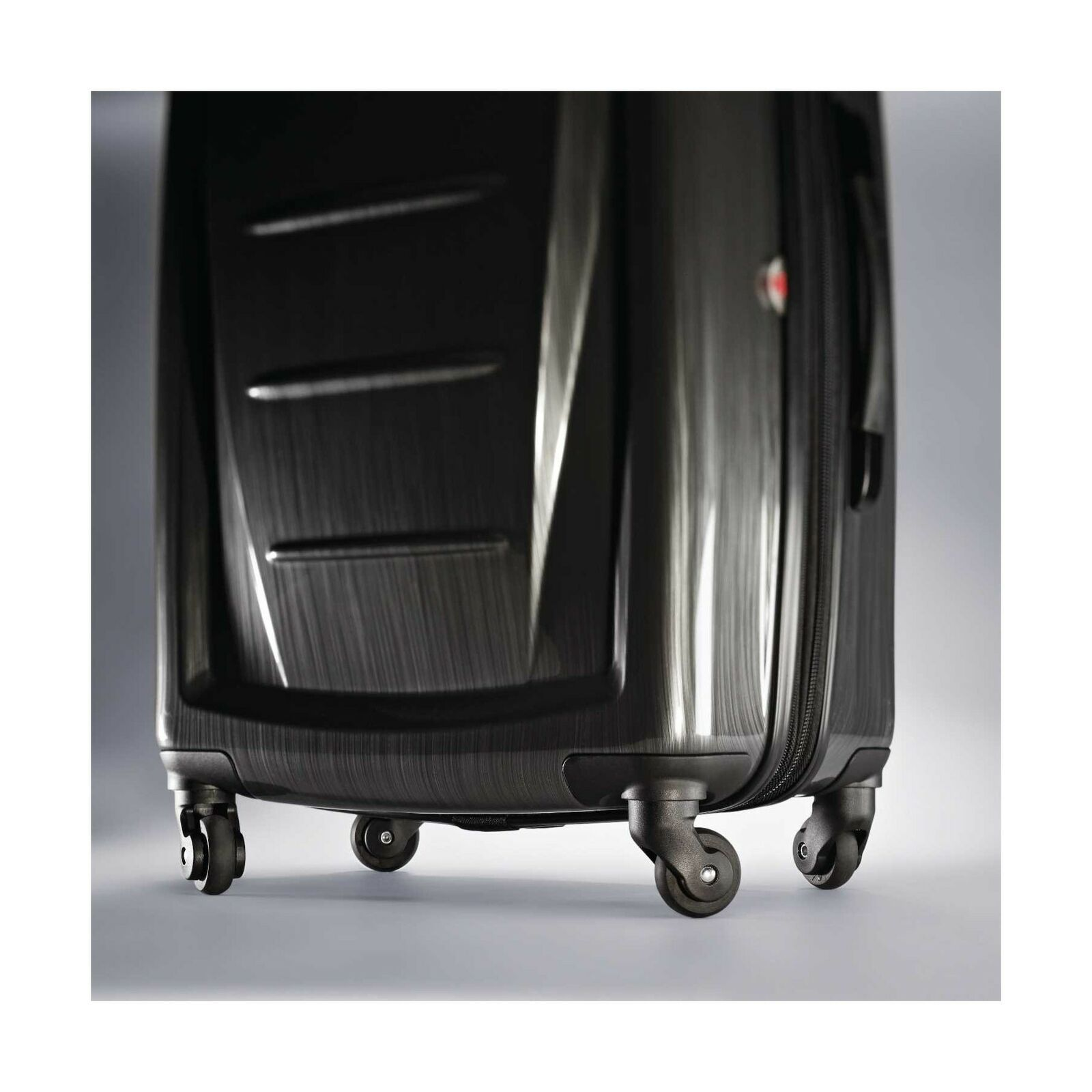 "Samsonite Winfield Hardside Luggage Brushed Anthracite 20"" Travel Suitcase Bag"